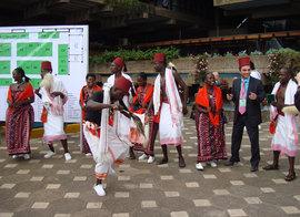 Baykar на выставке в Кении