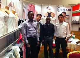 Baykar на выставке в Нигерии